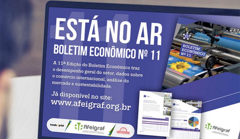 Afeigraf divulga Boletim Econômico nº 11