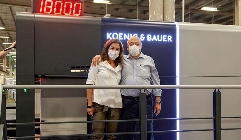 Gráfica Gonçalves avança produtividade com novos equipamentos da Koenig & Bauer