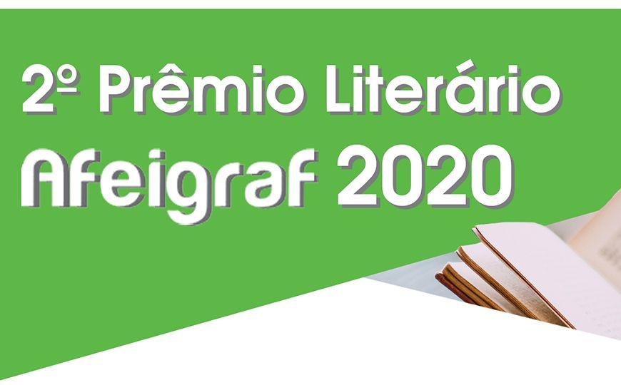 2º Prêmio Literário Afeigraf 2020 é anunciado