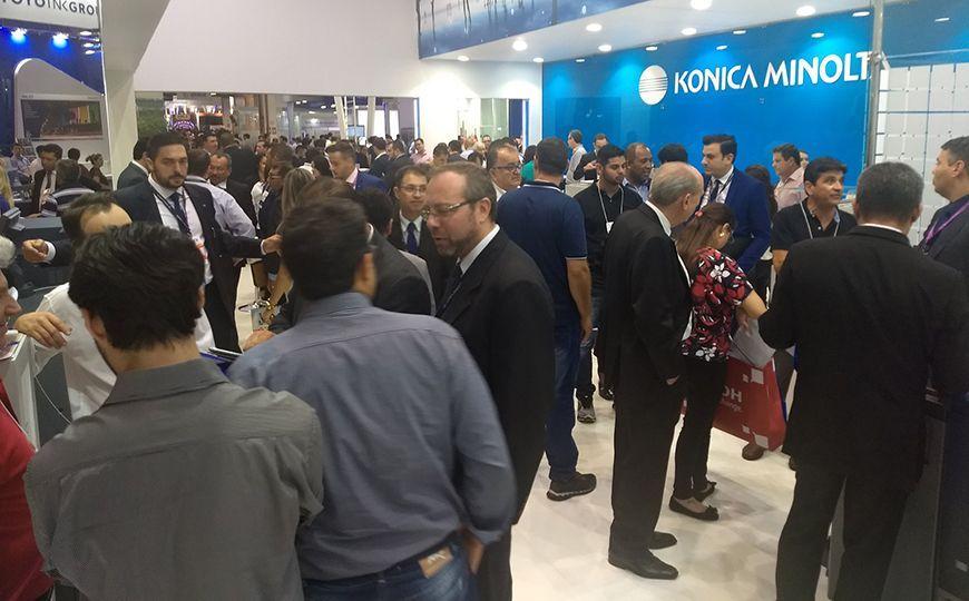 Konica Minolta estará na ExpoPrint & ConverExpo mostrando amplo portfólio