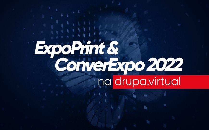 ExpoPrint & ConverExpo estará na drupa.virtual 2021