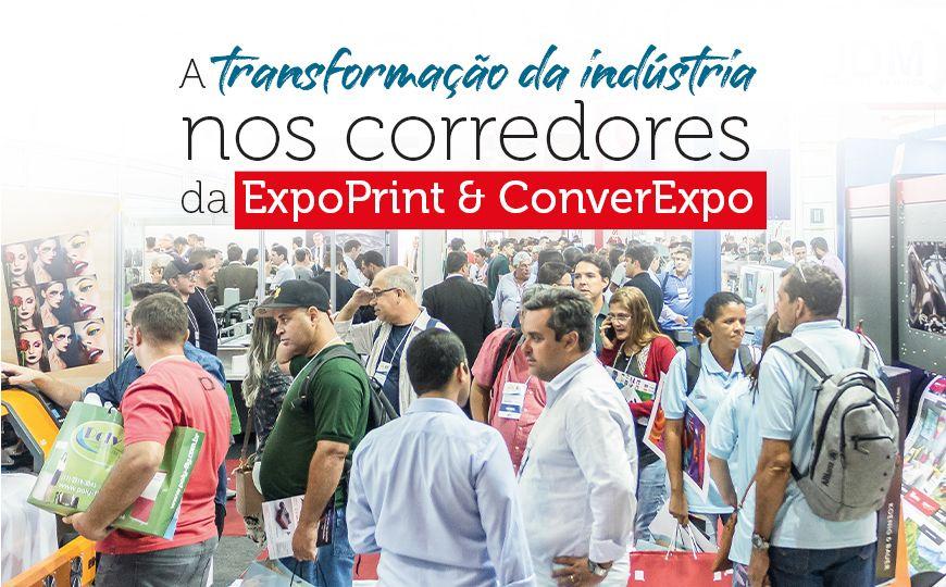 A transformação da indústria nos corredores da ExpoPrint & ConverExpo